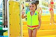 Детский жилет для плавания желтый с розовым, фото 4