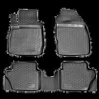Коврики в салон Ford Ranger (06-) (полимерные) L.Locker