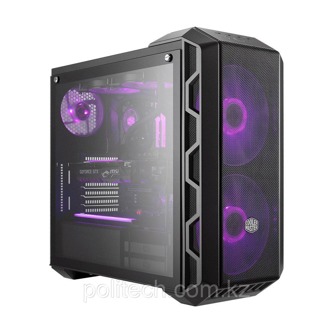 Компьютерный корпус Cooler Master MasterCase H500 Iron Grey без Б/П