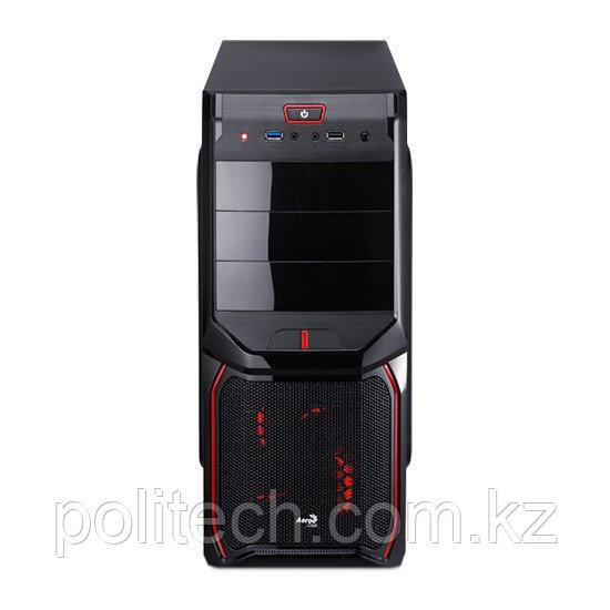 Компьютерный корпус Aerocool V3X Advance Devil Red Edition без Б/П