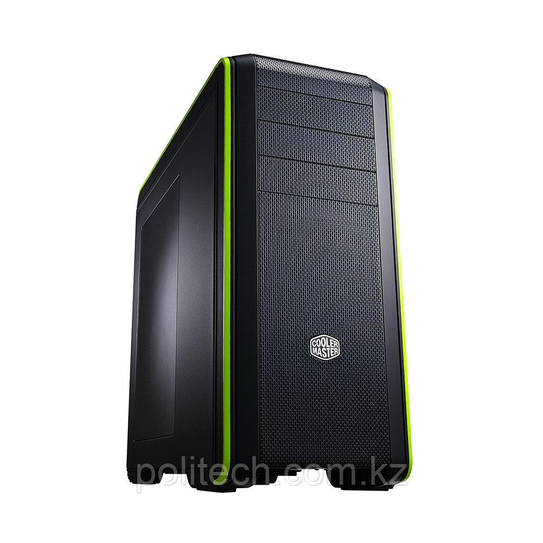 Компьютерный корпус Cooler Master CM 690 III Green (CMS-693-GWN1) без Б/П