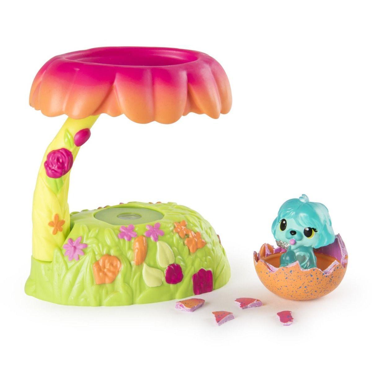 """Игровой набор Hatchimals """"Домик-гнездо со светом Сад"""" - фото 1"""
