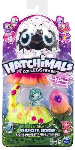 """Игровой набор Hatchimals """"Домик-гнездо со светом Сад"""" - фото 3"""