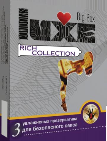Презервативы Big Box Rich collection №3