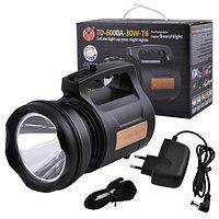 Аккумуляторний фонарь TD-6000 30W