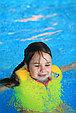 Детский жилет для плавания желтый с розовым, фото 3