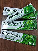 Зубная паста с базиликом Защита полости рта, Дабур Хербл (Oral Protection Basil toothpaste Dabur Herb'l) 150 г