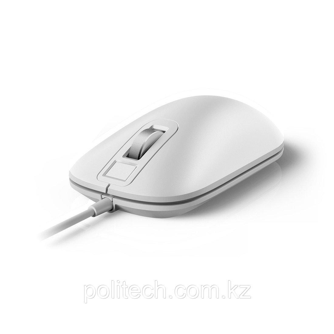 Проводная мышка Xiaomi Smart Fingerprint Mouse Белый