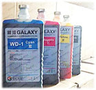 Galaxy WD-1/WD-2 Кey (черный) краска на водной основе DYE, фото 2