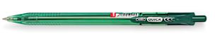 Ручка шариковая Cello Quick автомат, зеленый, фото 2