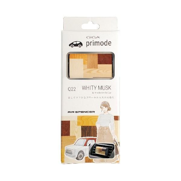 Ароматизатор на кондиционер GIGA Primode - WHITY MUSK