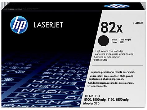 HP 82X  Картридж лазерный черный  C4182X