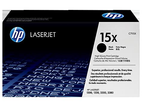 HP 15X  Картридж лазерный черный  C7115X