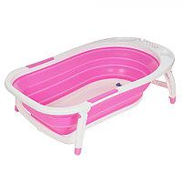 Детская ванна складная Pituso 85 см розовая, фото 1