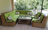 Комплект мебели из ротанга