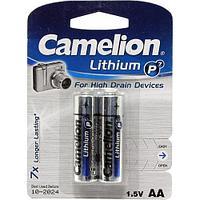 Батарейки AA (2шт) Lithium P7 FR6-BP2 CAMELION