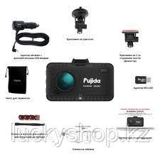 Fujida Karma Duos WiFi - видеорегистратор с GPS радар-детектором и WiFi-модулем, фото 2