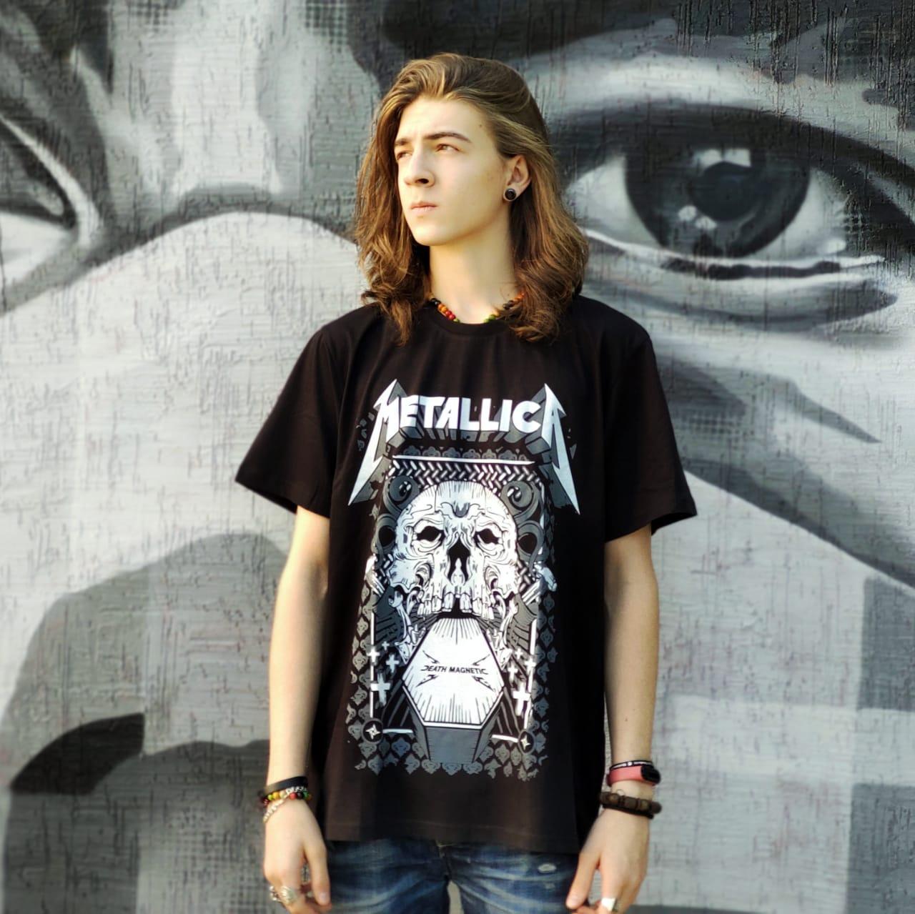 Футболка Metallica - Металлика