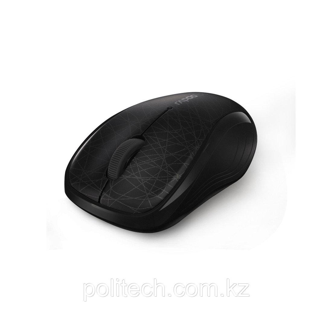 Компьютерная мышь Rapoo 3100p Чёрный