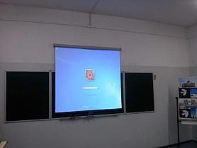 Монтаж проектора, интерактивной доски, проекционного экрана  в школах, детских садах, вузах 10