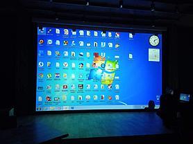 Монтаж проектора, интерактивной доски, проекционного экрана  в школах, детских садах, вузах 3