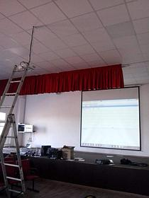 Монтаж проектора, интерактивной доски, проекционного экрана  в школах, детских садах, вузах 5