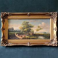 Сельский пейзаж. Современная голландская живопись