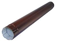 Труба круглая 90 мм, 3 м RAL 8017 Коричневый