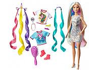 """Барби """"Много образов с длинными волосами"""" Barbie Fantasy Hair, фото 1"""