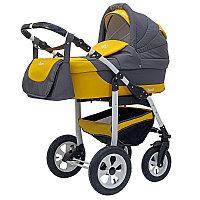 Детская коляска Bart-Plast Bari 2 в 1 Желтый