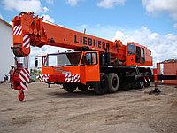 Услуги аренды автокрана LIEBHERR 80 тонн