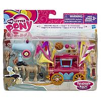 My Little Pony - Набор Кренки Дудл и тележка для праздника, Hasbro