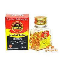 Рыбий жир (Cod Liver oil capsules), 100 кап.