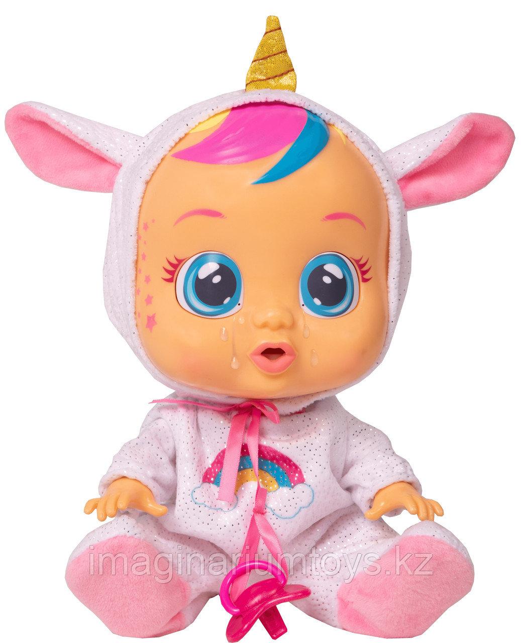 Плачущая кукла Cry Baby Dreamy Край Беби Единорог Дрими