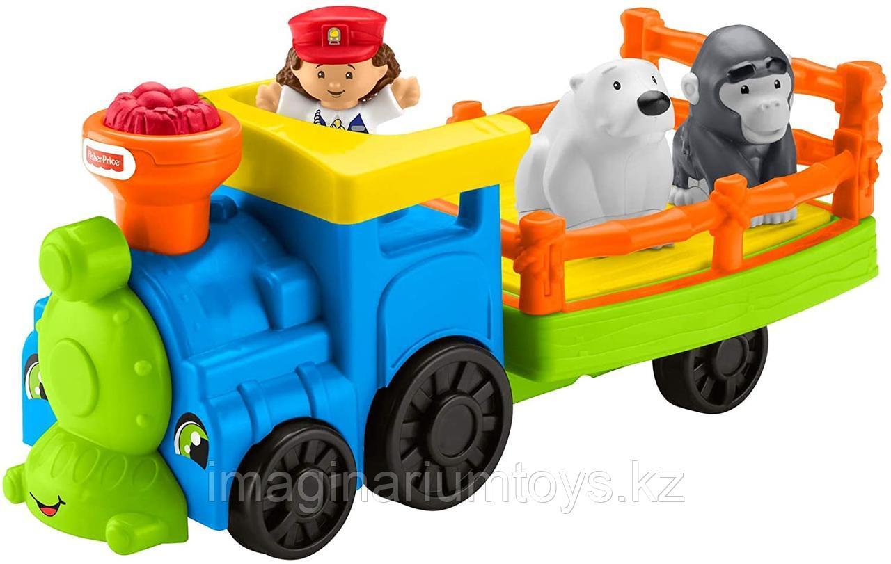 Интерактивная игрушка для детей «Веселый паровозик»