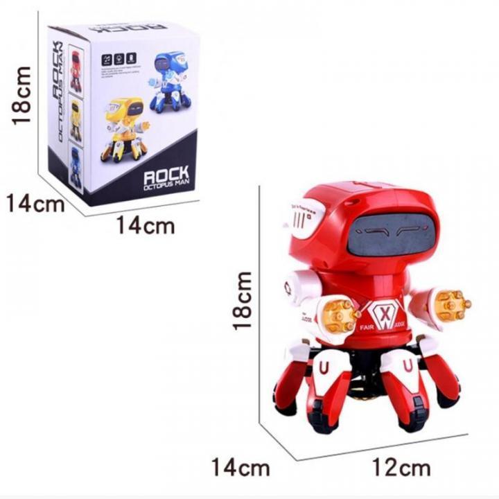 Танцующий робот ROCK OCTOPUS MAN