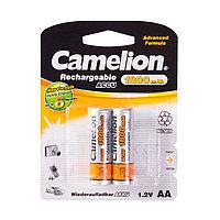 Аккумулятор CAMELION NH-AA1800BP2  Rechargeable AA 1.2V 1800 mAh 2 шт. Блистер