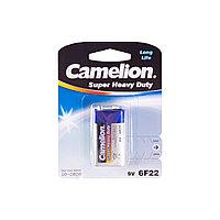 Батарейка  CAMELION  6F22-BP1B  Солевая  6F22(крона)  9V  680 mAh  1 шт.  Блистер