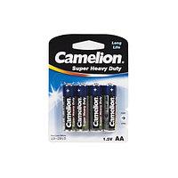 Батарейка CAMELION R6P-BP4B Super Heavy Duty AA 1.5V 1050mAh 4 шт. Блистер