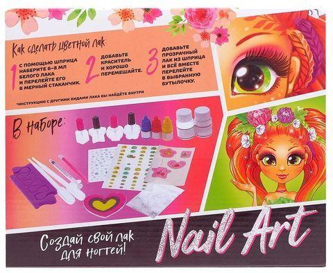 Набор для маникюра маленькой принцессы «Nail Art» Эврики Girls - фото 2