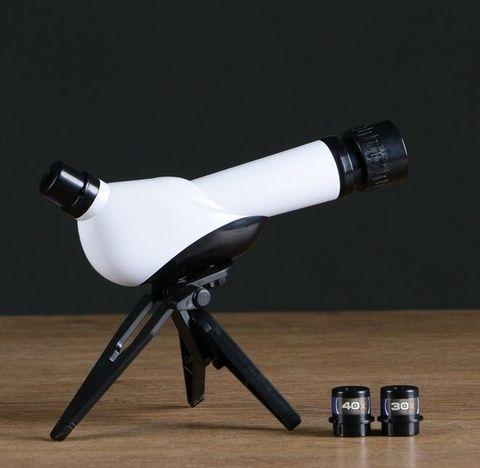 Телескоп настольный детский «Celestial Body» с 3 окулярами различного увеличения