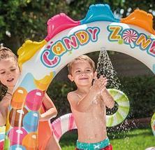 Мини-аквапарк надувной игровой центр «Конфетная зона» с набором аксессуаров INTEX 57149NP {295x191x130 см}, фото 2