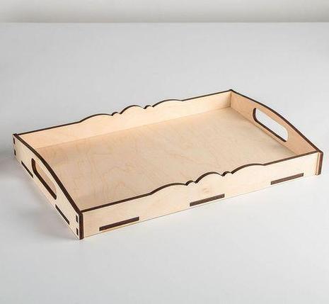 Столик-поднос  с ручками «Завтрак для двоих», фото 2