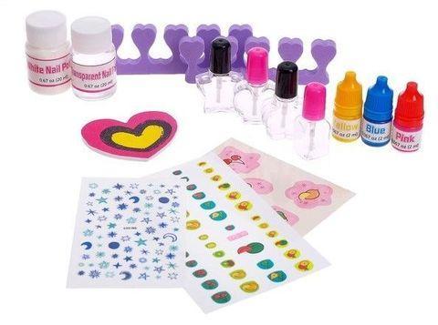 Набор для маникюра маленькой принцессы «Nail Art» Эврики Girls - фото 3