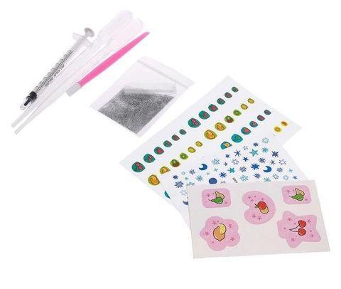 Набор для маникюра маленькой принцессы «Nail Art» Эврики Girls - фото 4