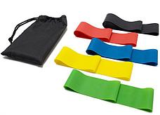Резинки (мини-петли) для фитнеса, набор в чехле, фото 3