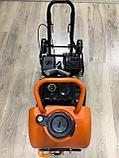 Виброплита PIT 99008 с бензиновым двигателем и бачком, фото 2