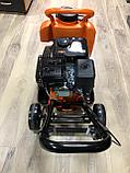 Виброплита PIT 99008 с бензиновым двигателем и бачком, фото 3