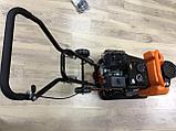 Виброплита PIT 99008 с бензиновым двигателем и бачком, фото 4