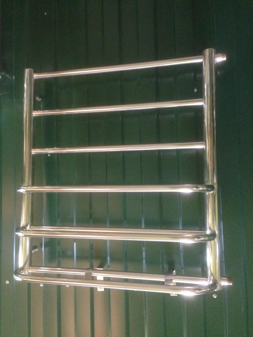 Полотенцесушитель 600х600 Полки 3 боковое левое, с протекторной защитой